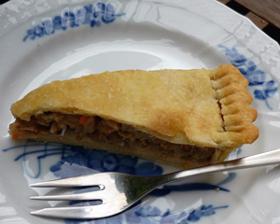 デザート:小豆のタルト