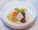冬瓜と龍眼のデザート No.6