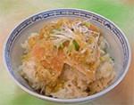 グルテンの葱生姜味ご飯